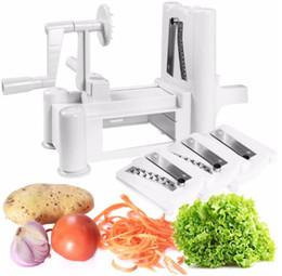 $enCountryForm.capitalKeyWord NZ - 3 Blades Spiral Vegetable Slicer Spiralizer Cutter Kitchen Carrot Grater Onion Heaviest Duty Vegetable Slicer Spaghetti Pasta Noodle Maker