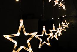 $enCountryForm.capitalKeyWord NZ - LED String 2M 110V 220v star curtain fairy light string lights christmas Xmas wedding party halloween decoration