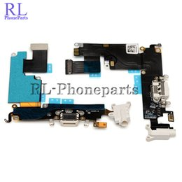 Iphone replacement charge online shopping - DHL new For iPhone plus Dock Connector Charging Port Headphone Jack Flex Cable Ribbon Replacement
