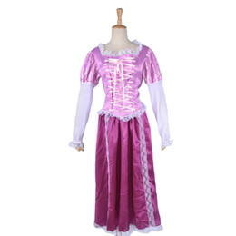 Barato Trajes De Carnaval Feminino-Womens Party Carnival Halloween Costume Dress Purple