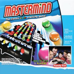 educational board games 2019 - Wholesale- intelligent Mastermind Classical Code Cracking Funny Board Game Interactive Game Educational Toys,Up to 5 Fla