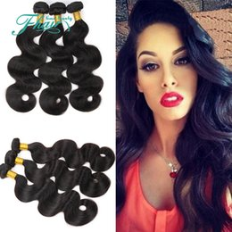 princess hair weave NZ - Princess 8A Indian Hair Body Wave 3Pcs Lot 100% Human Hair Weave Unprocessed Indian Hair Bundles 100g pc 10-30 Inch