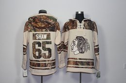 chicago hoodies sweatshirts Australia - Top Quality ! 2017 New Chicago Blackhawks Old Time Hockey Jerseys 65 ANDREW SHAW Camo Hoodie Pullover Sweatshirts Sport Winter Jacket