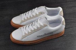 Chegam novas Clyde Costurado HAN Kjøbenhavn unissex sapatos casuais homens mulheres sapatos em Promoção