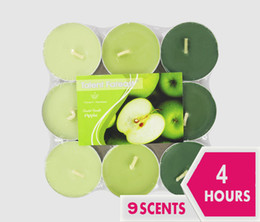 $enCountryForm.capitalKeyWord Canada - 4Hours Scented Candle Hosley's Set of 9 Tea Light Candles, 9 Fragrance Option Tealights Parties Votive Weddings Spa Product Code :101-1013