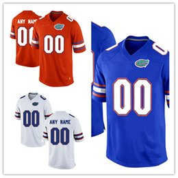 ... Mens Custom Florida Gators College Football Jerseys Stitched Orange  White Royal Blue NCAA Florida Gators Personal . 79f9e4cd5