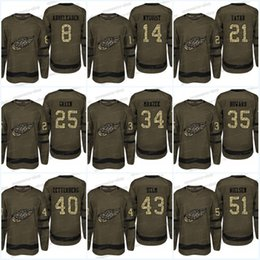 Camouflage Detroit Red Wings Jersey 8 Justin Abdelkader 25 Mike Green 21 Tomas  Tatar 14 Gustav Nyquist Army green Hockey Jerseys 379dbe5d5