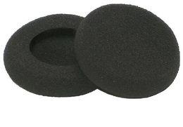 foam headphone covers 2019 - 5000pcs of 5cm Soft Sponge Foam Earpads Headphone Earphone Sponge Cover Ear Pad 50mm diameter