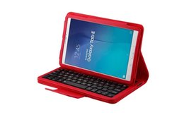 Discount laptop mix - Removable Wireless Bluetooth Keyboard ABS Plastic Laptop Stylish Keys Case For Samsung Galaxy TabE T560 9.6 inch