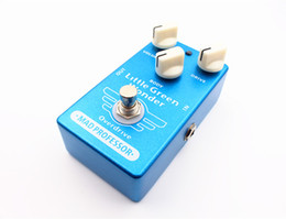 guitar effects free shipping NZ - Free Shipping Wholesales Clone Mad Professor Little Green Wonder Guitar Effect Pedal Little Green Wonder overdrive and true bypass