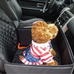 Großhandel Hund Autositzbezug 2 in 1 vorne mit Sicherheitsgurt Schutz rutschfeste Sitzbezüge passen in Fahrzeug SUV Auto LKW Van