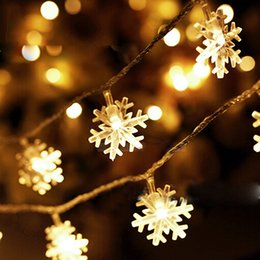 Snowflake lights australia new featured snowflake lights at best christmas snowflake led string light 25m 20 5m 40led battery models christmas light for outdoor patio lawn landscape aloadofball Image collections