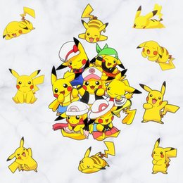 Wholesale New Pikachu Decal Removable Wall Sticker Home Decor Art Kids Children Nursery Loving Home Decoration Gift For Children DHL B0455