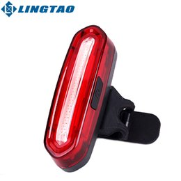 Wholesale New Bicycle USB Rechargeable LED Light Bike Front Rear Light Outdoor Cycling Warning Lamp Night Safety Taillight