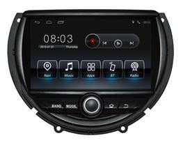 Toptan satış Android9.0 Dört çekirdekli 1024 * 600 HD ekran Araba DVD GPS Navigasyon Mini Cooper için 2014-2016 ile 3G / Wifi DVR OBD 1080 P