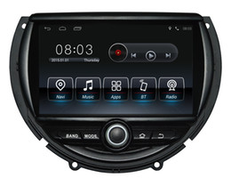 Chinese  Android9.0 Quad-core 1024*600 HD screen Car DVD GPS Navigation for Mini Cooper 2014-2016 with 3G Wifi DVR OBD 1080P manufacturers
