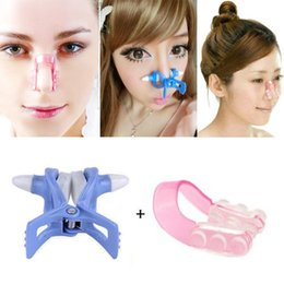 nose up shaping shaper lifting NZ - Nose Up Shaping Shaper Lifting + Bridge Straightening Beauty Clip Clipper Set #E791