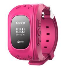 Ingrosso Hot Smart Kid Safe GPS Q50 Orologio da polso SOS Chiamata Location Finder Locator Tracker per Kid Child Anti Monitor perso Baby