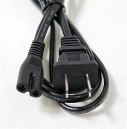 Рисунок 8 шнур питания переменного тока линия замена провода сетевой кабель 1,5 М 5 футов для Playstation ноутбук зарядное устройство 2 Зубец США ЕС Plug