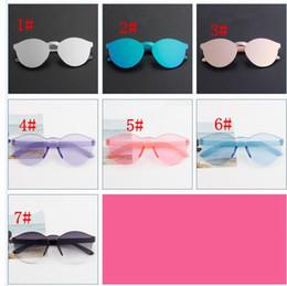 1493ed0a27 Fashion Sunglasses Baby Boys Girls Kids sunglasses Vintage Sun Glasses  Children Plastic Frame Eyewear 7 color KKA3334