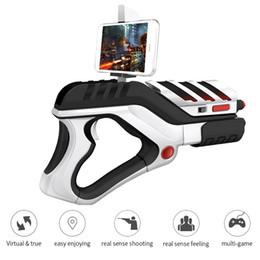 Magic Handle NZ - 2017 Hot Sale New high quality 3D AR Game Gun game magic gun phone Bluetooth 4.4 handle enhanced reality shooting game AR