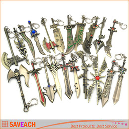 $enCountryForm.capitalKeyWord Canada - League Of Legend Keychain LoL Character Weapons Metal Pendant Key Ring LOL Key chain Collection Fancy Gift