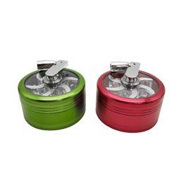 $enCountryForm.capitalKeyWord Australia - Mini size green and red rocker Herbal Herb Tobacco Grinder Spice Crusher smoking Accessory Grinder Tool