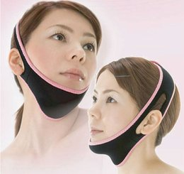 Ceinture De Massage Pas Cher-Face Lift Up Belt Masque lifting Masque Massage Slimming Face Shaper Détente, masque facial amincissant Bandage facial ZA0206