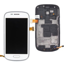 White Screen S Canada - LCD Touch Screen Digitizer For Samsung Galaxy S3 mini i8190 White