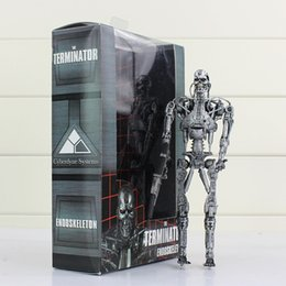 $enCountryForm.capitalKeyWord UK - NECA Terminator Endoskeleton Action Figure Robots Jouets Collective High Quality Best Gift For Kids 18cm Free Shipping