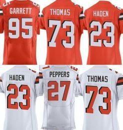 ... 2017 White Orange Men elite jersey Rugby jerseys 23 Joe Haden 95 Myles  Garrett 73 Joe Mens Nike Cleveland Browns 73 Joe Thomas Elite White NFL ... 1b5534053