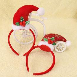 $enCountryForm.capitalKeyWord Australia - Girls Christmas Headband Xmas Tree Hairpin Hiair Sticks Headbow Best Christmas Gifts for Baby Tolders Girls