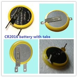 $enCountryForm.capitalKeyWord Canada - One lot = 1000pcs Welding CR2016 Button cell battery with Pins  Tabs