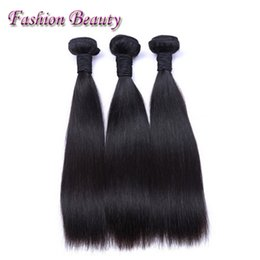 China Color Machine Canada - New arrival Party Decoration China Manufacturers 100% Unprocessed Wholesale straight Natural Black Indian Hair