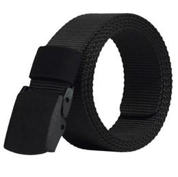 Cinturón de nylon de la hebilla automática Cinturón de táctica militar del  ejército de los hombres Cinturones de lona de la cintura militar Correa de  la ... bcfed46c89e7