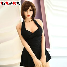 Silicone Love Dolls For Sex NZ - igrark real sized sex doll solid silicone sex doll with metal skeleton,realistic pussy masturbator love doll for men, 165cm158cm real dolls