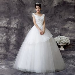 $enCountryForm.capitalKeyWord Canada - Wedding Dresses Real Image Luxury Crystal Bridal Gowns Beads Sheer Long Sleeves Wedding Dress lace strap shoulder cultiva Backless collar