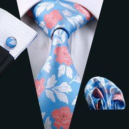 man weave 2019 - Mens High Quality Fashion Silk Men Blue Neck Tie Classic Ties For Men Neckties Jacquard Corbata N-0245 discount man weav