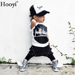 $enCountryForm.capitalKeyWord Canada - Just Dawn Baby Boy Clothes Set Fashion Newborn Clothing Suit Cotton Black White Toddler Tracksuit Girls Outfit T-Shirt + Trouser jumpsuits