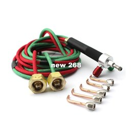 High Quality The Little Torch, Portable Acetylene Oxygen Torch Soldering, Mini Gas Welding Torch Equipment Jewelry Making Tools on Sale