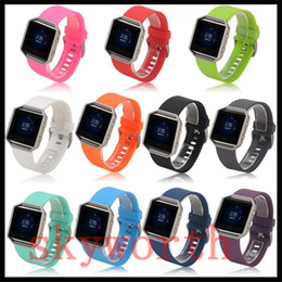 Replacement bRacelet watch bands online shopping - Silicone Watchband High Quality Replacement Wrist Band Silicon Strap For Fitbit blaze Smart Watch Bracelet color
