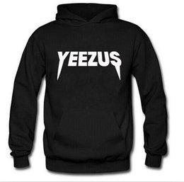 Wholesale Best Quality Brand yeezus Hooded Sweater Fashion Casual Winter Hoody Sweatshirts Long Sleeve Pullover Sports Outer Sweaters