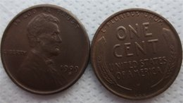 Nice promotioNs online shopping - USA SVDB Lincoln cents Coin differ Crafts Promotion Cheap Factory Price nice home Accessories Coins