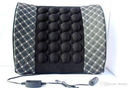 $enCountryForm.capitalKeyWord NZ - 5PCS Wine Massage Lumbar Pillow Car Power Lumbar Massage Waist Cushion Microfiber Leather Upholstery 41-1A 481