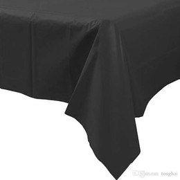 Plastic Tablecovers Table Cover Cloths Rectangle Tablecloth Wedding Patry  Decoration HH3 H210499
