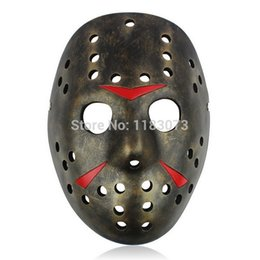 $enCountryForm.capitalKeyWord UK - Memorial Classics Freddy Vs Jason Theme Resin Face Masks Halloween Carnival Masquerade Party Costume Mask 5pcs lot Free Shipping