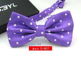 $enCountryForm.capitalKeyWord NZ - Children kids bow ties polyester Polka Dots bowties wedding bow ties mixed colors 12x7cm high quality