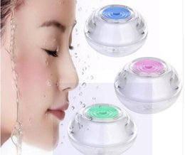 air mist humidifiers Canada - New Beauty Backlight Crystal USB Air Ultrasonic Humidifier Fogger Aroma Mist Maker Aromatherapy Essential for Home Office