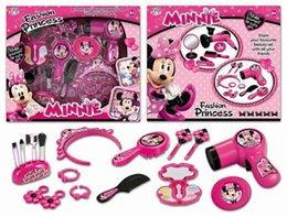 Baby Girls Make Up Toy Pretend Gioca Set di cosmetici Include spazzole per capelli asciugacapelli elettrico, specchio e più nuovo di zecca in scatola