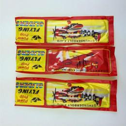 Atacado enigma Magia Planadores aeronaves que voam de avião de espuma Voltar Avião da criança dos miúdos brinquedo educativo DIY 36pcs / lot em Promoção